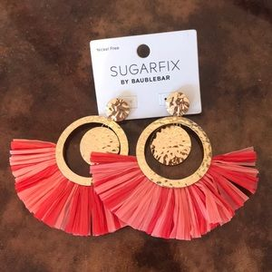 Sugar fix tassel earrings